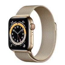 ساعت هوشمند اپل سری 6 مدل 44mm Stainless Steel Case with Milanese Loop
