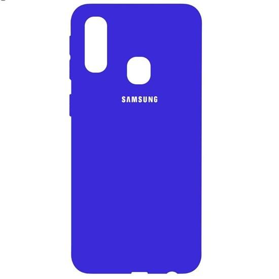 کاور سیلیکونی مدل Silky Soft-touch مناسب برای گوشی موبایل سامسونگ Galaxy A30