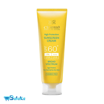کرم ضد آفتاب سینره SPF60 مناسب پوست خشک و معمولی