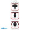 سه پایه نگهدارنده گوشی موبایل و تبلت یونیمات مدل D-909 PLUS